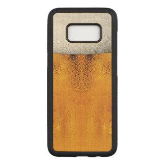 Capa Carved Para Samsung Galaxy S8 Âmbar da caneca de cerveja do festival de outubro