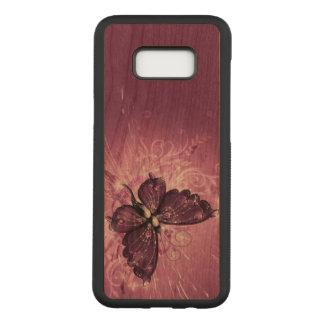 Capa Carved Para Samsung Galaxy S8+ Arte abstracta roxa bonita do redemoinho da