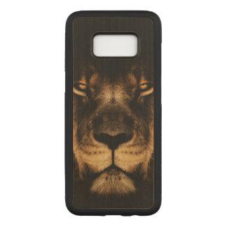 Capa Carved Para Samsung Galaxy S8 Arte africana da cara do leão