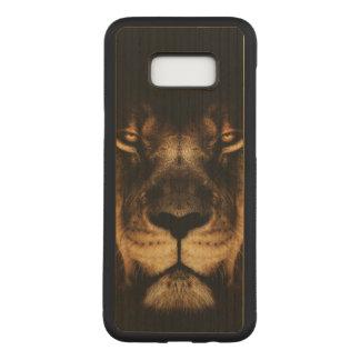 Capa Carved Para Samsung Galaxy S8+ Arte africana da cara do leão