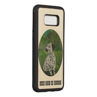 Capa Carved Para Samsung Galaxy S8 Arte Dalmatian do cão