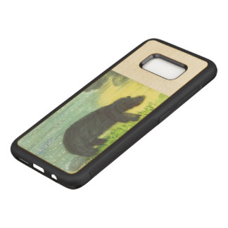 Capa Carved Para Samsung Galaxy S8 Arte do animal dos animais selvagens do