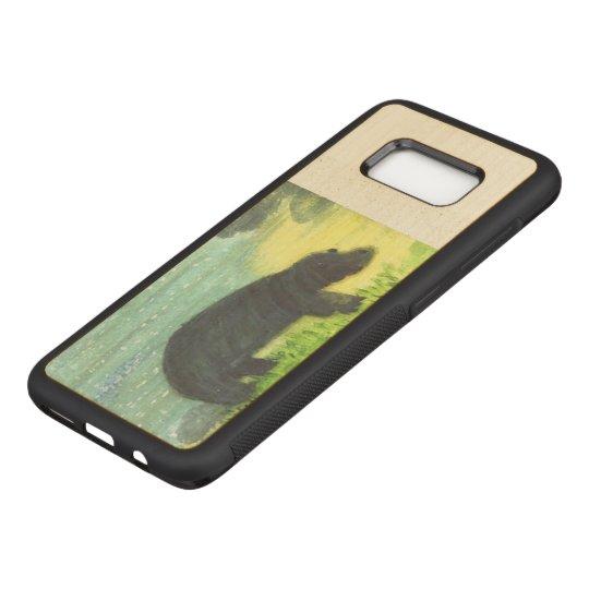 Capa Carved Para Samsung Galaxy S8 Arte do animal dos animais selvagens do