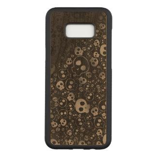 Capa Carved Para Samsung Galaxy S8+ arte preto e branco dos grafites do impressão das