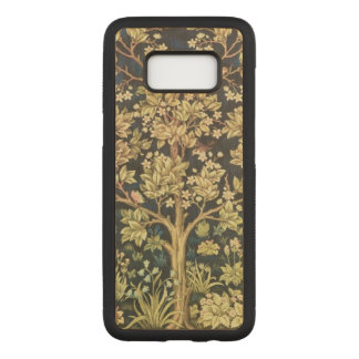 Capa Carved Para Samsung Galaxy S8 Árvore de William Morris do Pre-Raphaelite do