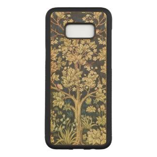Capa Carved Para Samsung Galaxy S8+ Árvore de William Morris do Pre-Raphaelite do