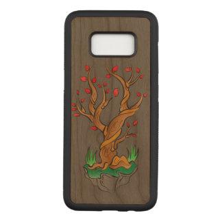 Capa Carved Para Samsung Galaxy S8 Árvore mais velha/crescimento novo