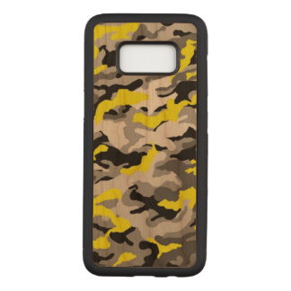 Capa Carved Para Samsung Galaxy S8 As forças armadas pretas amarelas do exército de