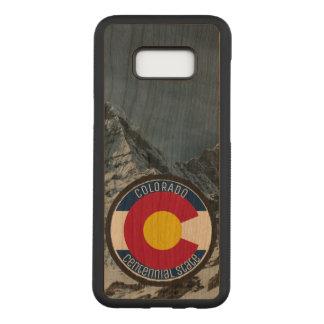 Capa Carved Para Samsung Galaxy S8+ Bandeira da circular de Colorado