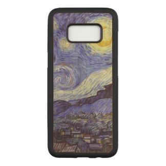 Capa Carved Para Samsung Galaxy S8 Belas artes do vintage da noite estrelado de