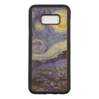 Capa Carved Para Samsung Galaxy S8+ Belas artes do vintage da noite estrelado de