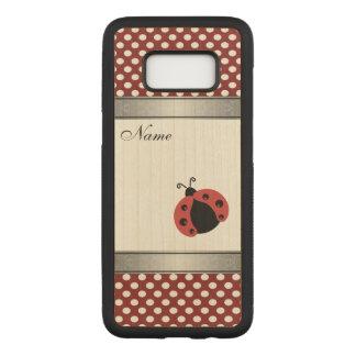 Capa Carved Para Samsung Galaxy S8 Bolinhas na moda elegantes do joaninha