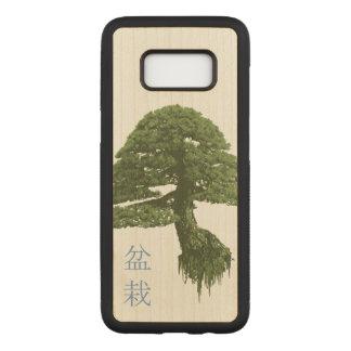 Capa Carved Para Samsung Galaxy S8 Caixa de madeira de flutuação da galáxia S8 da
