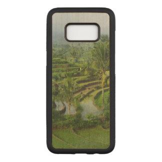 Capa Carved Para Samsung Galaxy S8 Campos e palmeiras do arroz na ilha de Bali