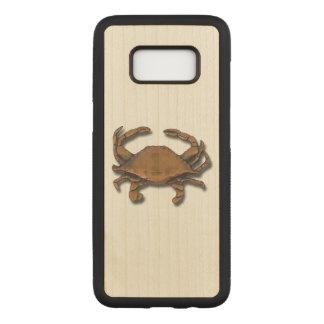 Capa Carved Para Samsung Galaxy S8 Caranguejo de cobre