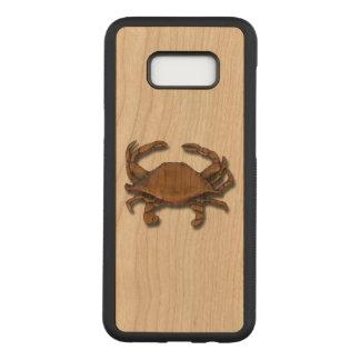 Capa Carved Para Samsung Galaxy S8+ Caranguejo de cobre