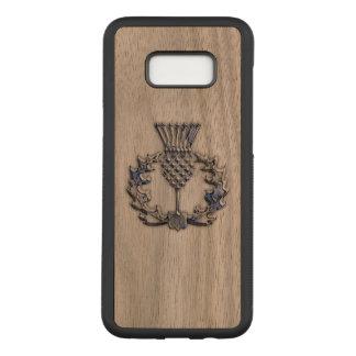 Capa Carved Para Samsung Galaxy S8+ Cardo escocês em a