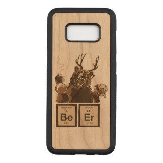 Capa Carved Para Samsung Galaxy S8 Cerveja descoberta urso da química