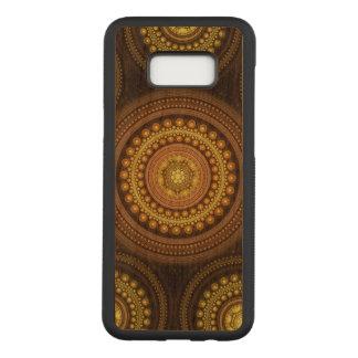 Capa Carved Para Samsung Galaxy S8+ Círculos do Fractal