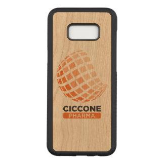 Capa Carved Para Samsung Galaxy S8+ Cobrir da madeira de pinho da galáxia s8