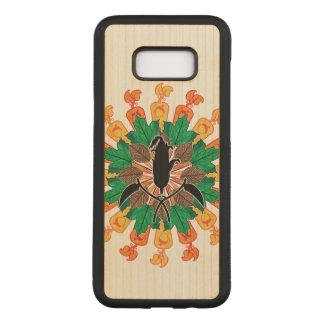 Capa Carved Para Samsung Galaxy S8+ Colagem abstrata da colheita do outono