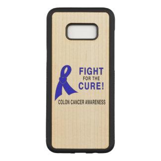 Capa Carved Para Samsung Galaxy S8+ Consciência do cancro do cólon: Luta para a cura!