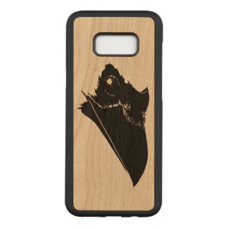 Capa Carved Para Samsung Galaxy S8+ Corvo
