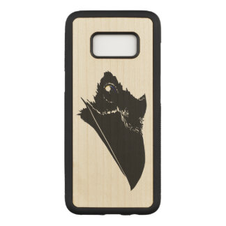 Capa Carved Para Samsung Galaxy S8 Corvo