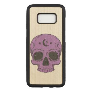 Capa Carved Para Samsung Galaxy S8 Crânio artístico