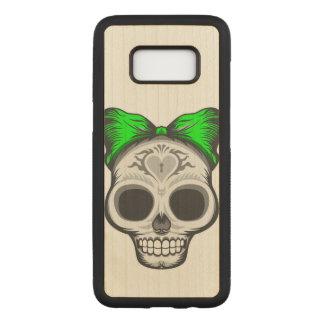Capa Carved Para Samsung Galaxy S8 Crânio artístico do açúcar