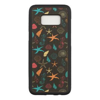 Capa Carved Para Samsung Galaxy S8 Criaturas coloridas do mar