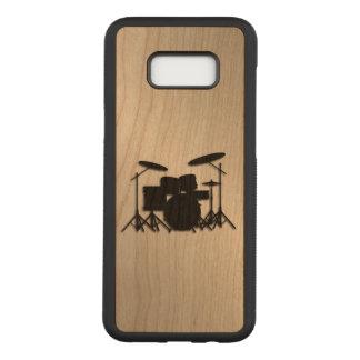 Capa Carved Para Samsung Galaxy S8+ Design ajustado da música do cilindro