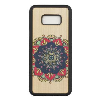 Capa Carved Para Samsung Galaxy S8+ Design colorido de Manadala