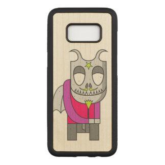 Capa Carved Para Samsung Galaxy S8 Diabo pequeno tímido