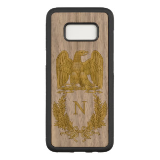 Capa Carved Para Samsung Galaxy S8 Emblema de Napoleon Bonaparte