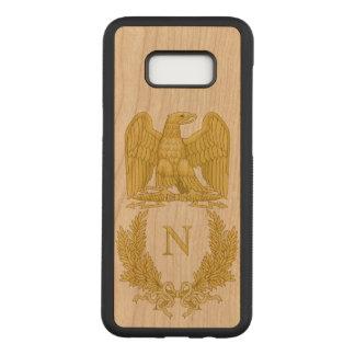 Capa Carved Para Samsung Galaxy S8+ Emblema de Napoleon Bonaparte