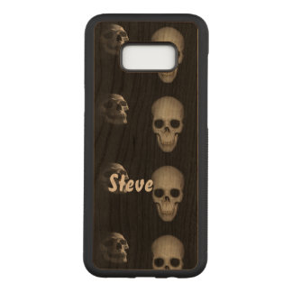Capa Carved Para Samsung Galaxy S8+ Esqueleto no armário personalizado