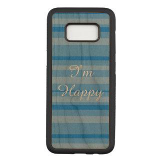 Capa Carved Para Samsung Galaxy S8 Eu sou exemplo feliz de Samsung S8