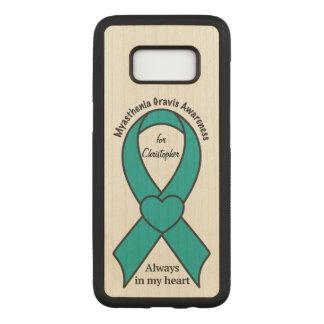 Capa Carved Para Samsung Galaxy S8 Fita conhecida da consciência de Gravis da