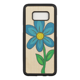 Capa Carved Para Samsung Galaxy S8 Flor artística do primavera