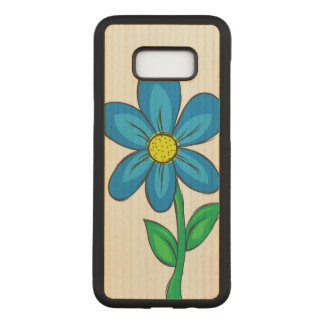Capa Carved Para Samsung Galaxy S8+ Flor artística do primavera