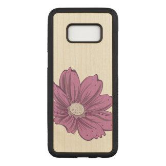 Capa Carved Para Samsung Galaxy S8 Flor de florescência artística