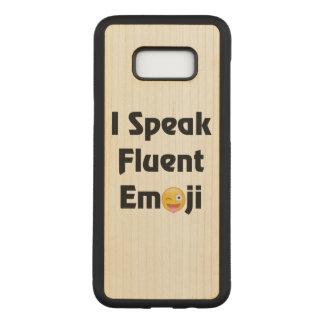 Capa Carved Para Samsung Galaxy S8+ Fluente em Emoji