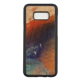 Capa Carved Para Samsung Galaxy S8+ Galáxia colorida S8 de Samsung+ Caixa magro da
