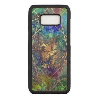 Capa Carved Para Samsung Galaxy S8 Galáxia de PixDezines+Facetas de pedra preciosa