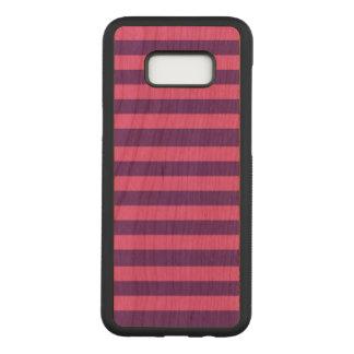 Capa Carved Para Samsung Galaxy S8+ Galáxia S8 de Samsung das listras+ Caixa magro da