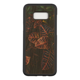 Capa Carved Para Samsung Galaxy S8+ Galáxia S8 de Samsung do Croton+ Caixa magro da