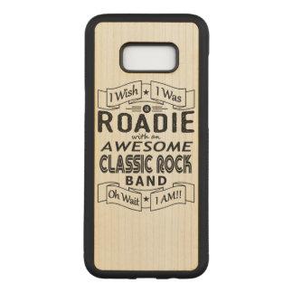 Capa Carved Para Samsung Galaxy S8+ Grupo de rock clássico impressionante de ROADIE