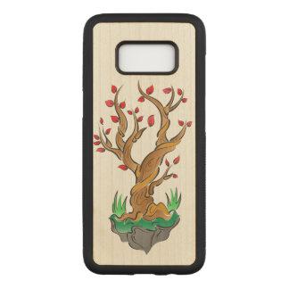 Capa Carved Para Samsung Galaxy S8 Ilustração artística da árvore