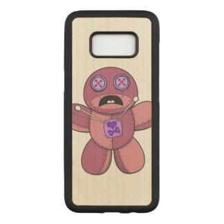 Capa Carved Para Samsung Galaxy S8 Ilustração da boneca do Voodoo